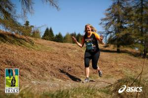Mrs Sticks lovin' the Lakeland Trails! (Photo courtesy of James Kirby @jumpyjames)