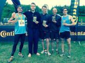 Conti Lightning Run May 2104 - the victorious Men's Running team.