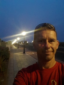 Off before sunrise - beating the heat in Fuerteventura.
