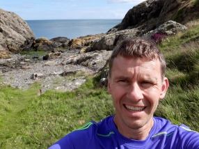 A bit of Anglesey cliff running.