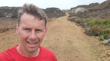 A bit of Anglesey quarry hill running.