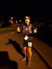 70 miles dow, deep into the night - feeling good!