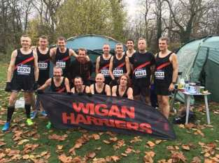 Wigan Harriers Men, Sefton Park, Nov 2018