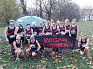 Wigan Harriers Women, Sefton Park, Nov 2018